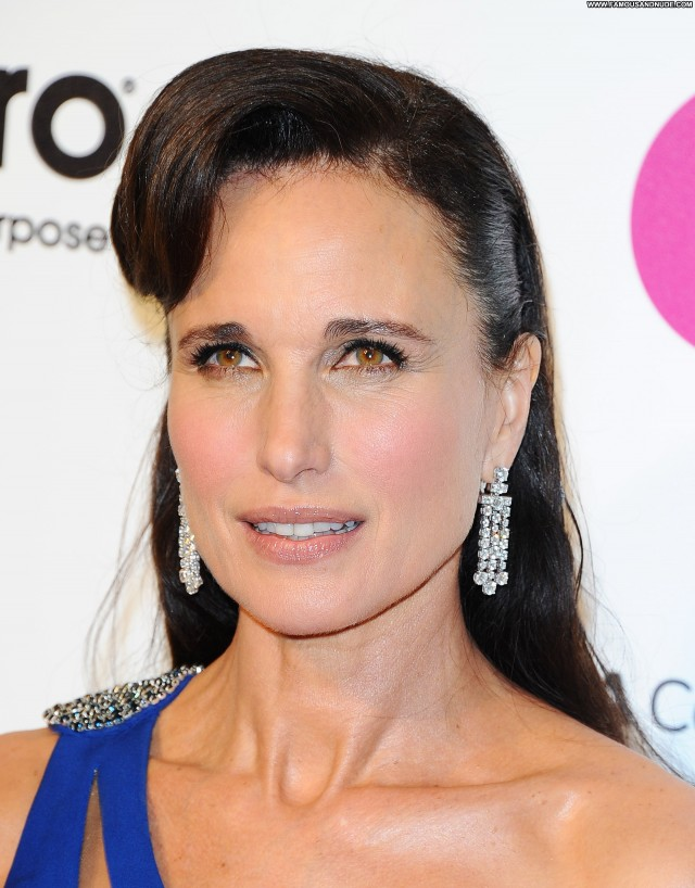 Andie Macdowell West Hollywood Party Celebrity West Hollywood