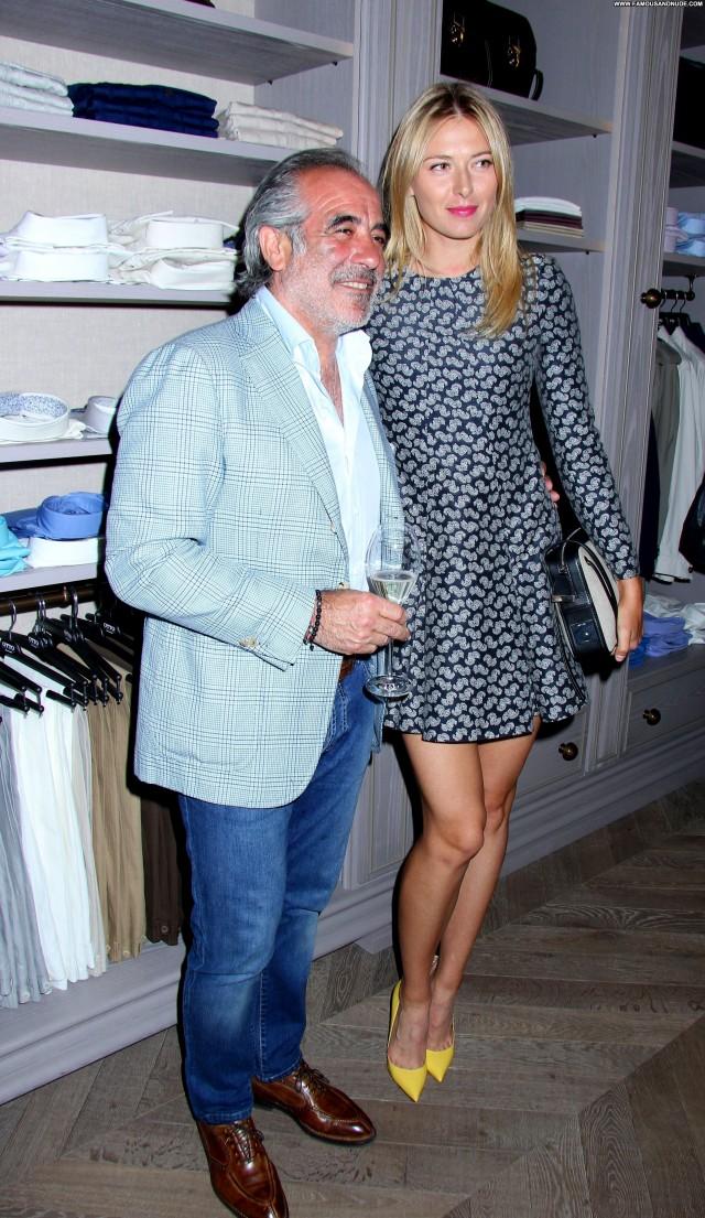 Maria Sharapova New York Sexy Stunning Celebrity Sensual Hot Doll