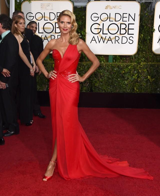 Heidi Klum Golden Globe Awards Stunning Nice Cute Gorgeous Celebrity