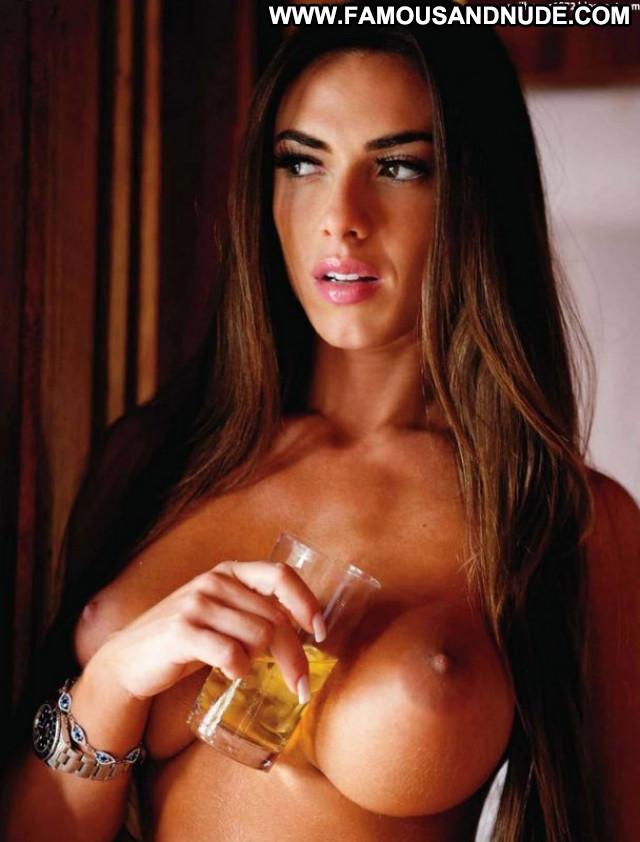 Nicole Bahls Playboy Brasil Posing Hot Sultry Celebrity Beautiful