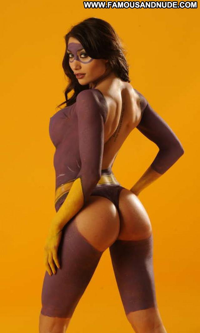 Girls No Source Posing Hot Beautiful Babe Celebrity Hot Body Painting