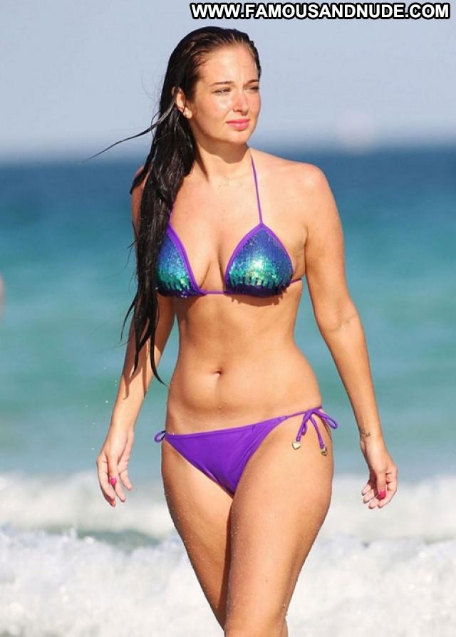 Tulisa Contostavlos The Beach Beach Posing Hot Babe Bikini Beautiful