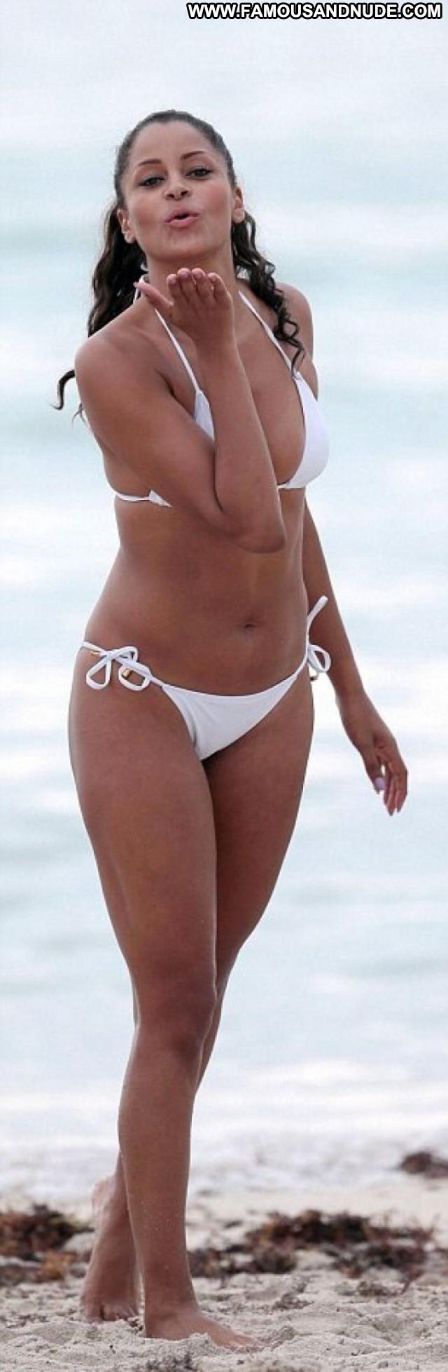 Claudia Jordan No Source Celebrity Beach Jordan Bikini Beautiful Babe