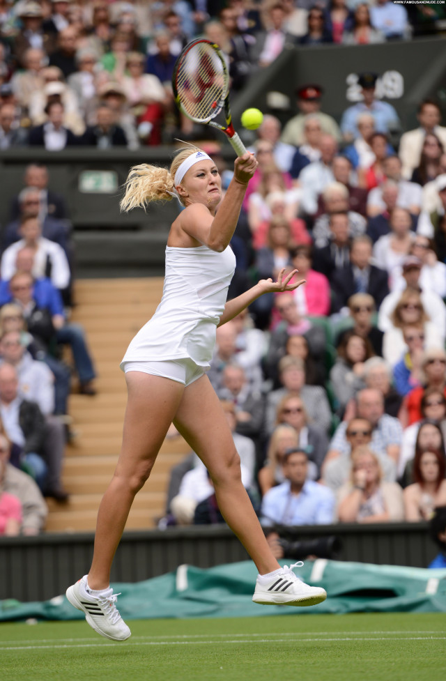 Kristina Mladenovic Posing Hot Russia Club Beautiful Tennis Celebrity