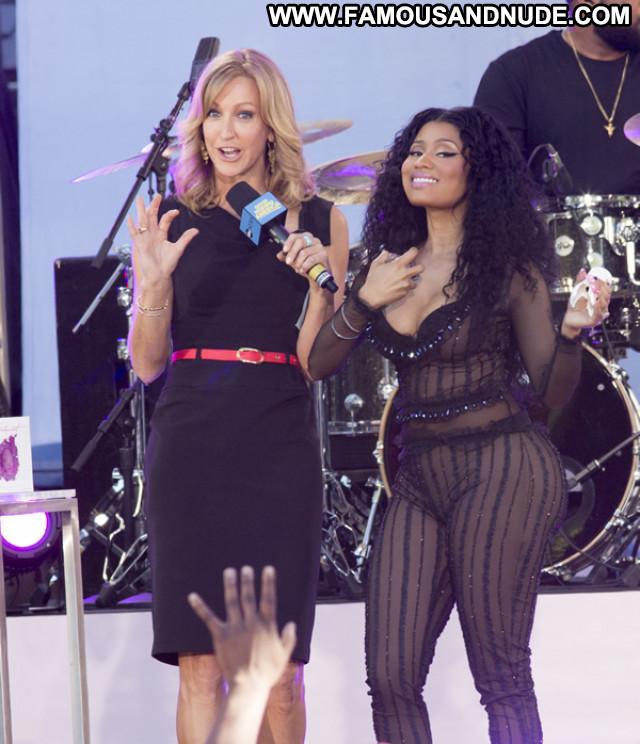 Nicki Minaj American Celebrity See Through Hot Posing Hot Babe