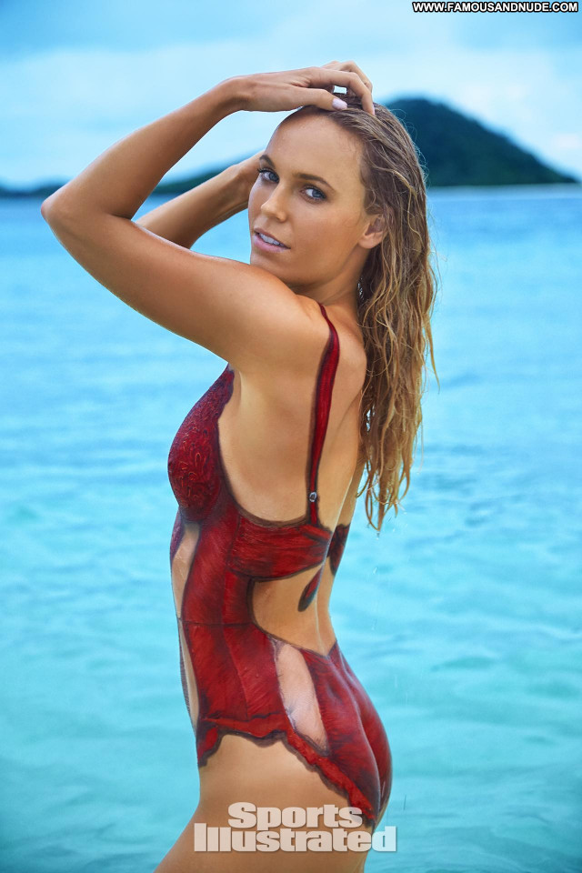 Caroline Wozniacki Sports Illustrated Swimsuit Babe Sexy Celebrity