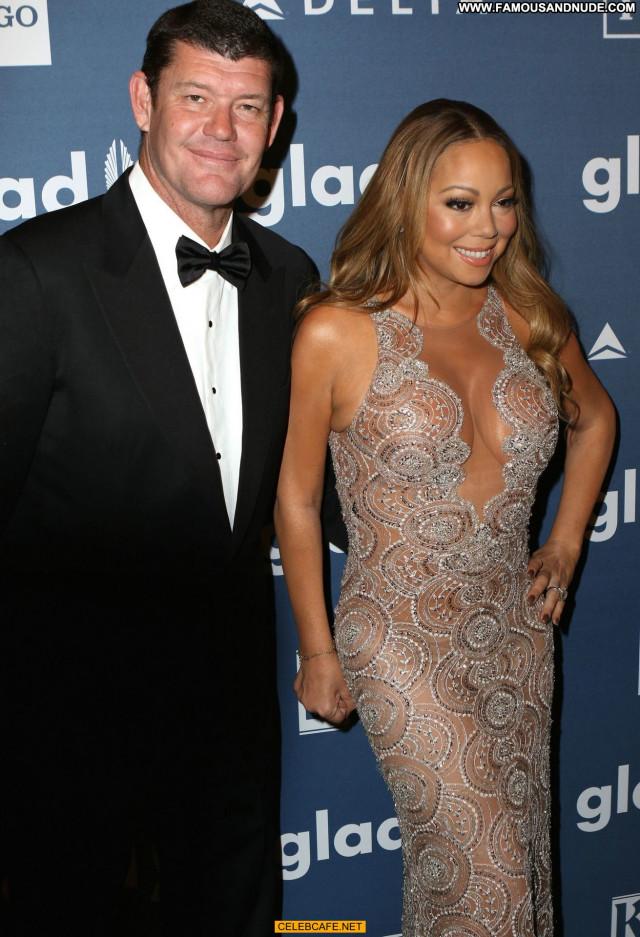 Mariah Carey No Source See Through Babe Car Posing Hot Awards