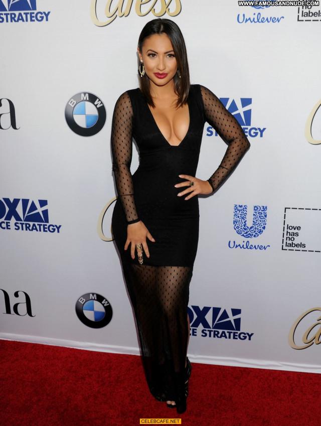 Francia Raisa No Source Latina Babe Downblouse Hot Party Posing Hot