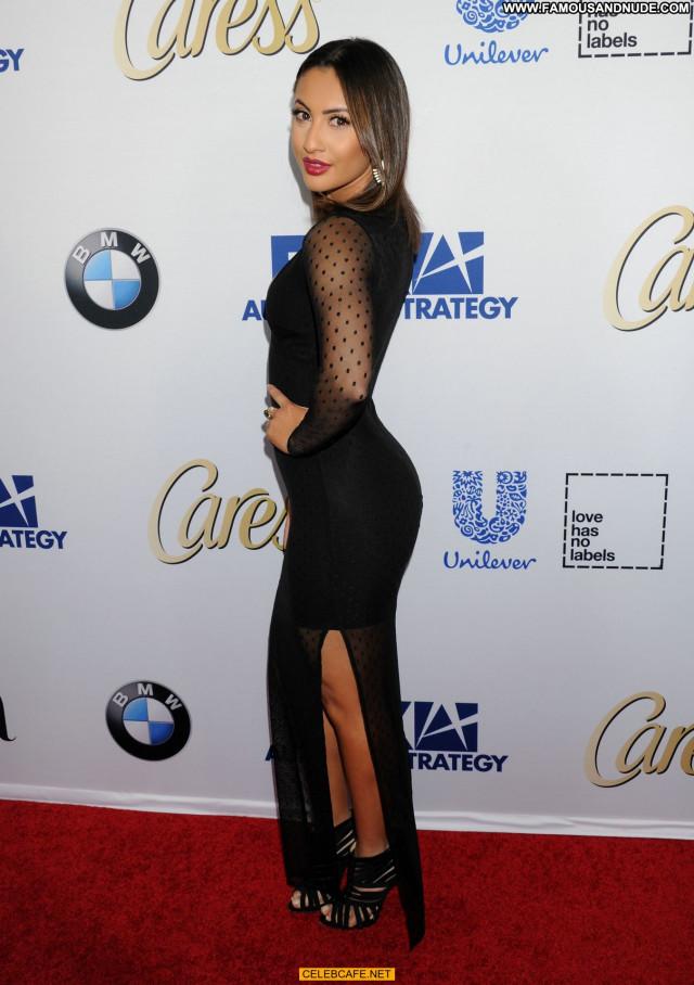 Francia Raisa No Source Posing Hot Hot Babe Celebrity Latin