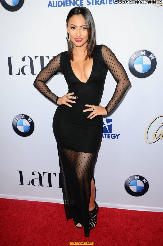 Francia Raisa No Source Celebrity Downblouse Babe Beautiful Latin