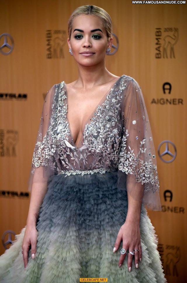 Rita Ora No Source See Through Posing Hot Beautiful Awards Babe