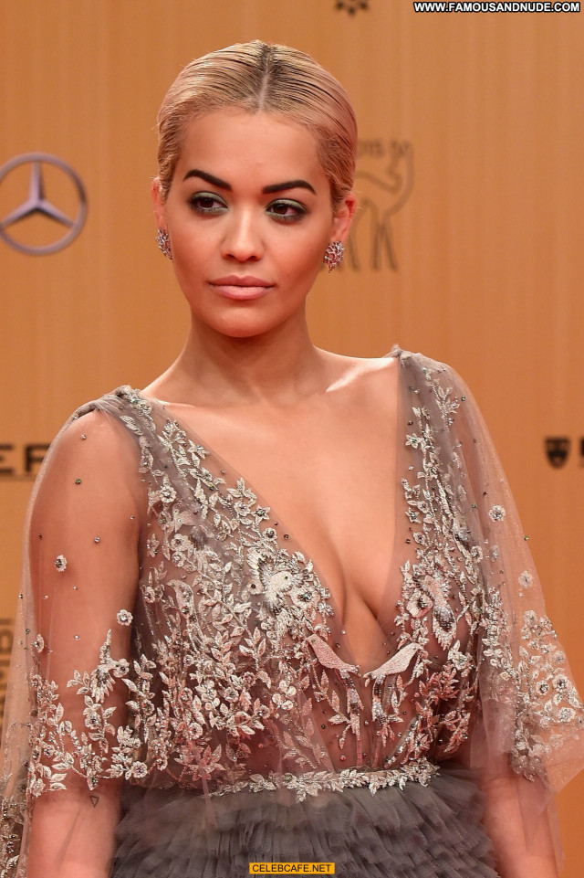 Rita Ora No Source Beautiful See Through Posing Hot Awards Celebrity
