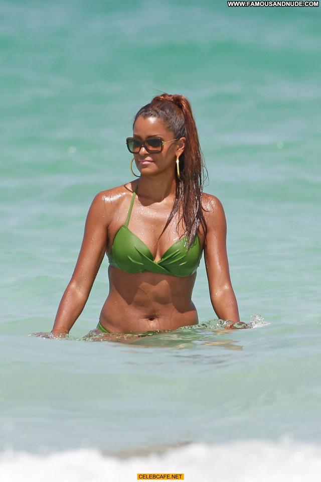 Claudia Jordan Miami Beach Posing Hot Babe Jordan Beautiful Celebrity