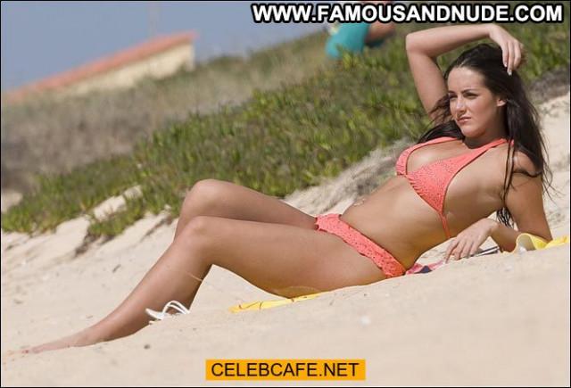 Katie Green Paparazzi Shots Topless Celebrity Paparazzi Babe Posing