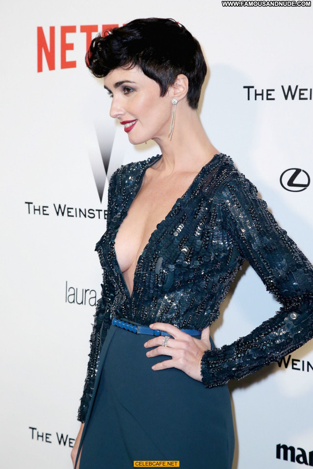 Paz Vega No Source Posing Hot Cleavage Babe Beautiful Celebrity Party