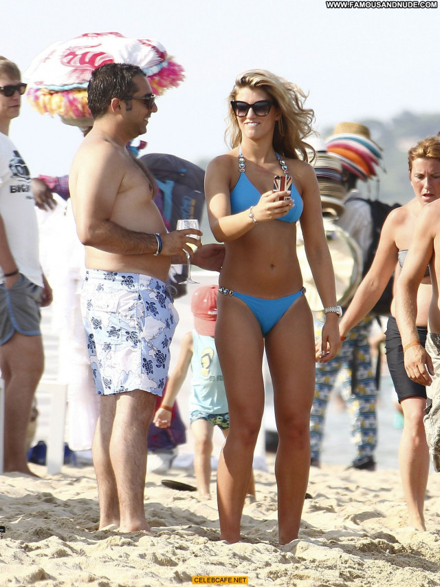 Amy Willerton No Source  Babe Bikini Celebrity Saint Tropez Beautiful