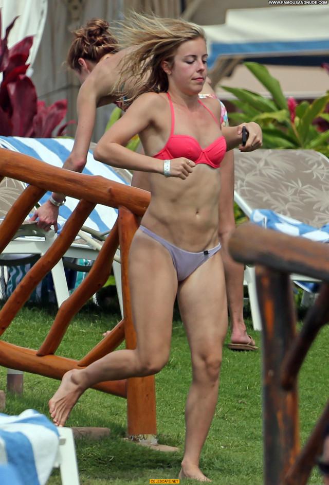 Ashley Wagner No Source Bikini Celebrity Babe Hawaii Posing Hot