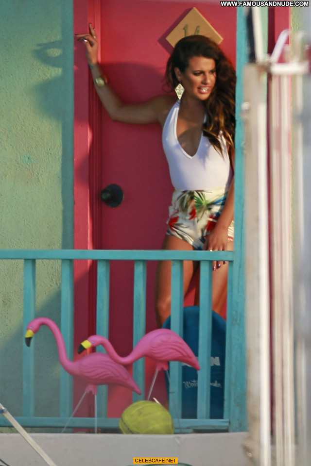 Lea Michele Los Angeles Beautiful Los Angeles Posing Hot Celebrity