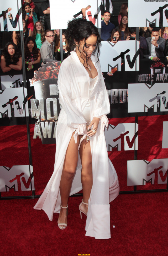 Rihanna Mtv Movie Awards Beautiful Sexy Sex Legs Los Angeles