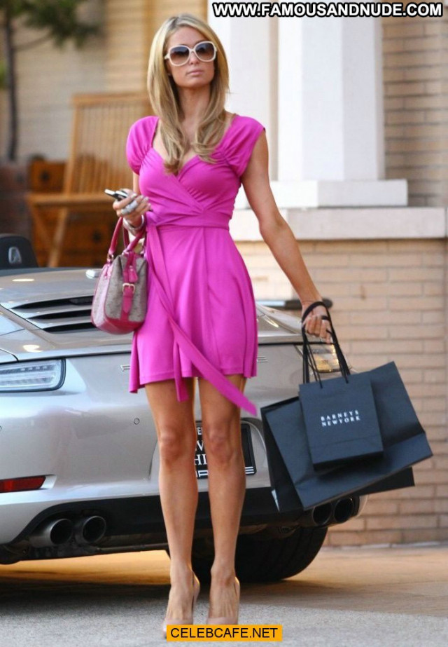 Paris Hilton Beverly Hills  Babe New York Bar Beautiful Posing Hot
