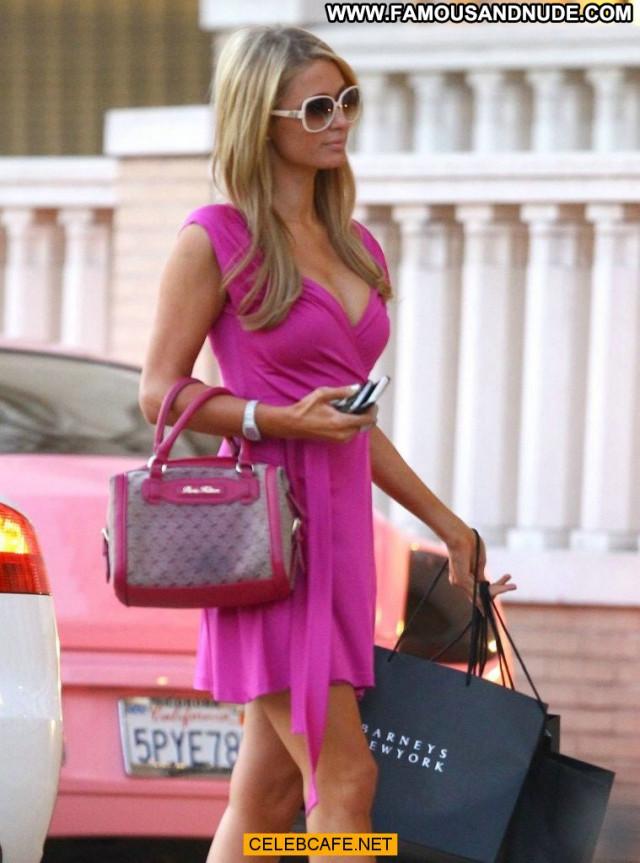 Paris Hilton Beverly Hills Beautiful Posing Hot Celebrity New York