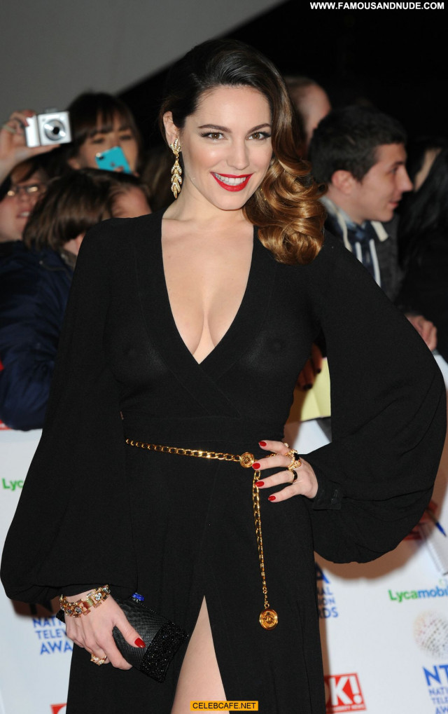 Kelly Brook No Source Beautiful See Through Celebrity Posing Hot Babe