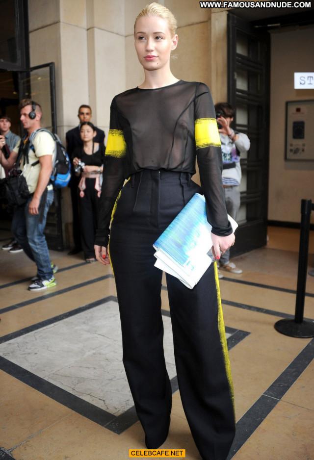 Iggy Azalea Fashion Show See Through Beautiful Paris Babe Celebrity