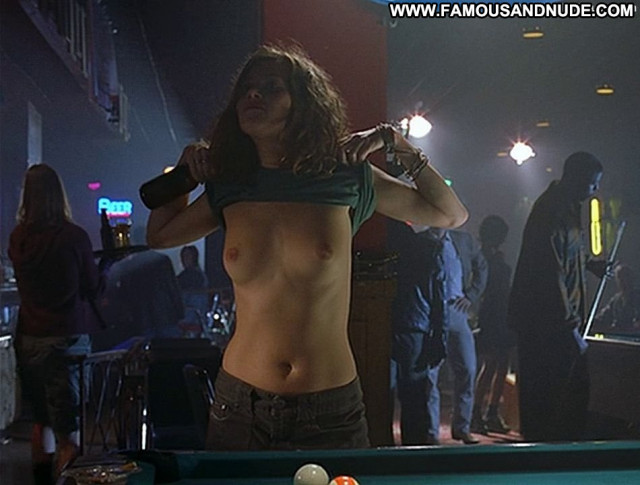 Anna Friel Pushing Daisies Beautiful Bar Bottle Breasts Celebrity