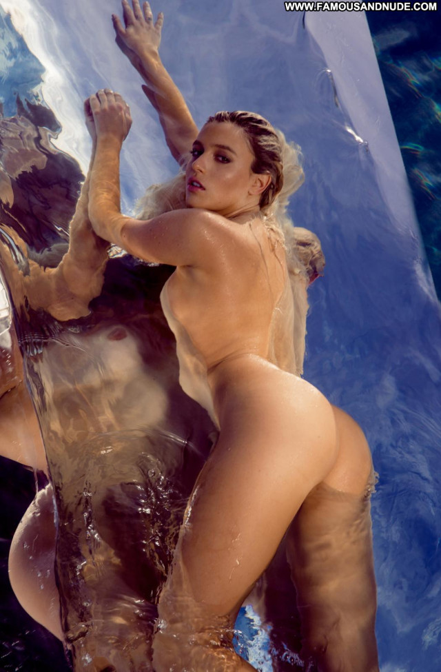 Monica Sims Picture Perfect Nude Celebrity Posing Hot Babe Jumping