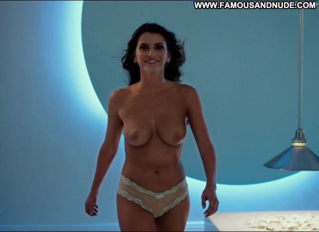 Bianca Haase Hot Tub Time Machine Toples Bar Posing Hot Breasts Big
