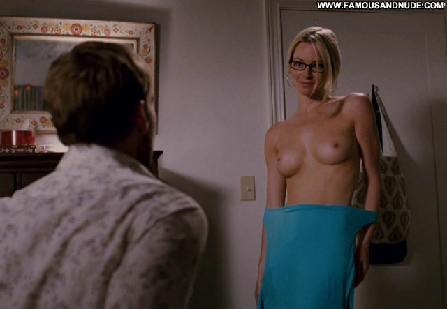Jessica Morris Role Models Topless Glasses Celebrity Bed Babe Posing