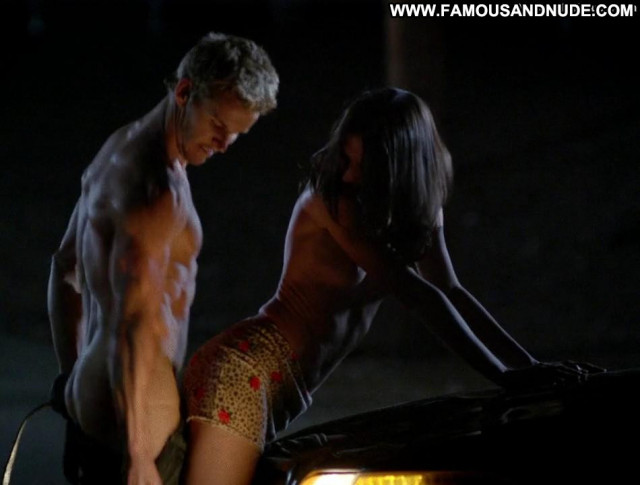 Karolina Wydra True Blood Shirt Celebrity Underwear Topless Sex Scene