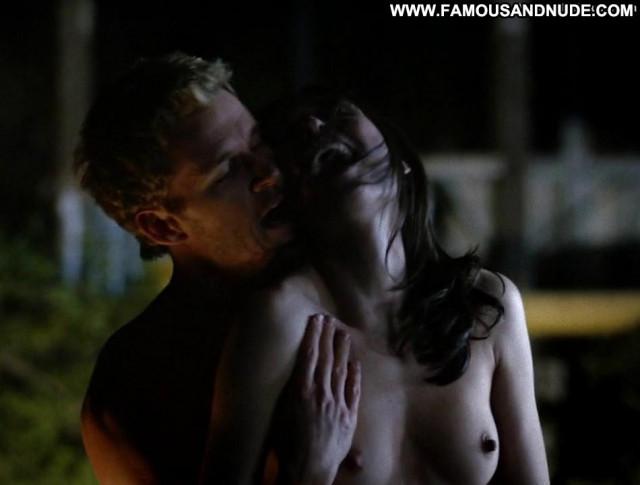 Karolina Wydra True Blood Sex Scene Underwear Topless Babe Breasts