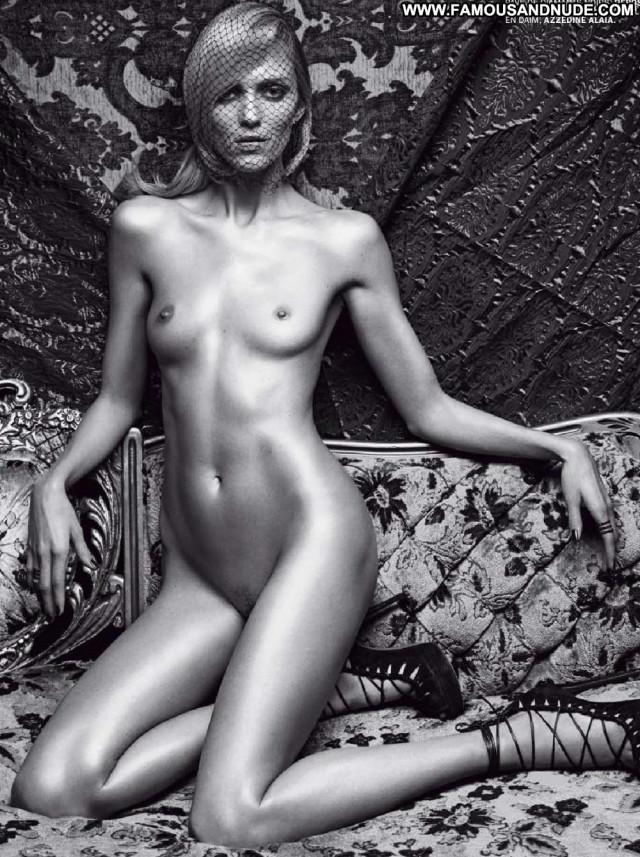 Anja Rubik French Magazine Photo Shoot Magazine Babe Big Tits Model