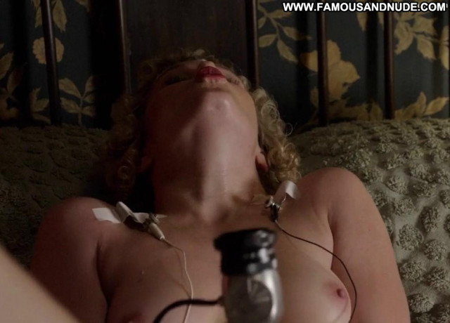 Nicholle Tom Masters Of Sex Celebrity Sex Breasts Babe Vibrator
