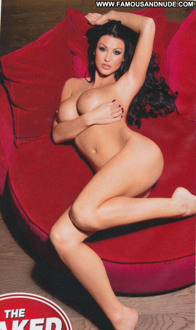 Alice Goodwin Zoo Magazine Topless Bed Posing Hot Big Tits Celebrity