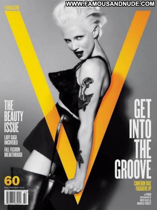 Lady Gaga V Magazine Babe Gag Mean Hat Bar Singer Beautiful See