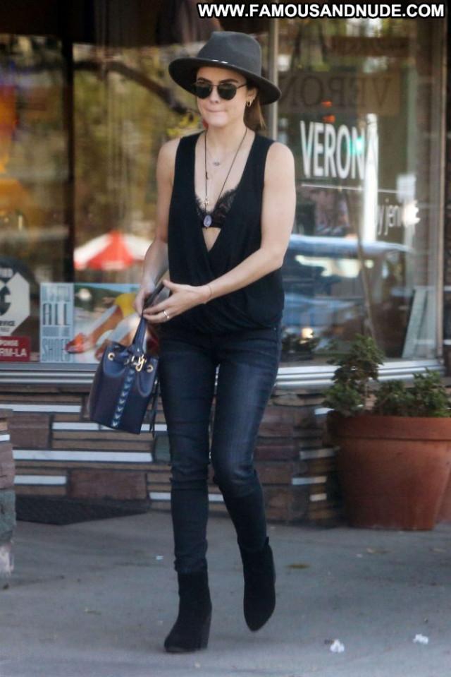 Lucy Hale Studio City Beautiful Posing Hot Black Celebrity Paparazzi