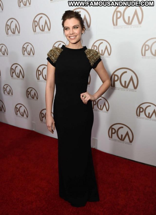 Lauren Cohan No Source Babe Posing Hot Awards Paparazzi Celebrity