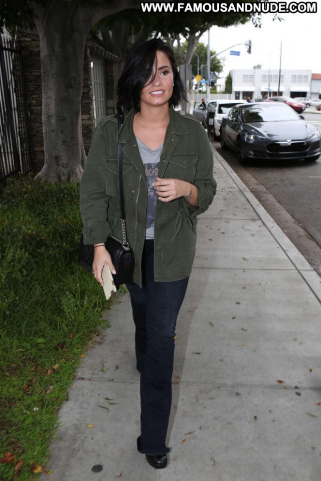 Demi Lovato West Hollywood Celebrity West Hollywood Office Hollywood