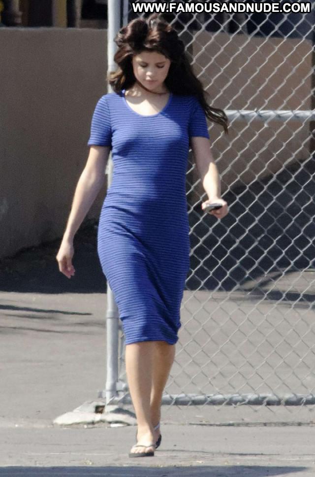 Selena Gomez Posing Hot Paparazzi Celebrity Babe Beautiful Nude