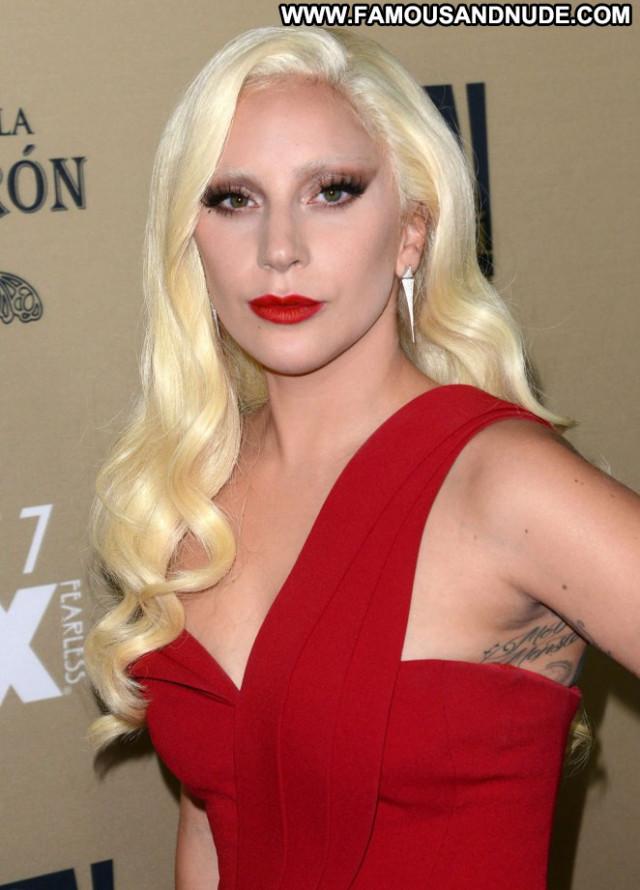 Lady Gaga American Horror Story Paparazzi Posing Hot Horror Beautiful