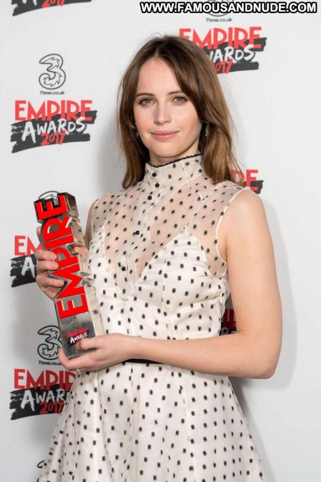 Felicity Jones No Source London Awards Celebrity Beautiful Posing Hot