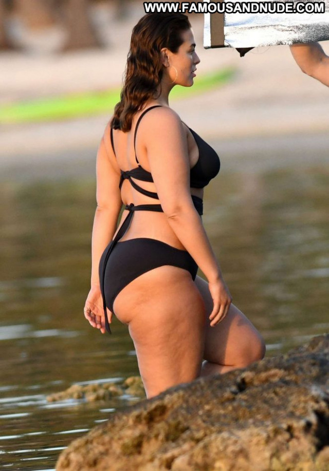 Photos No Source  Babe Beautiful Bikini Celebrity Black Photoshoot