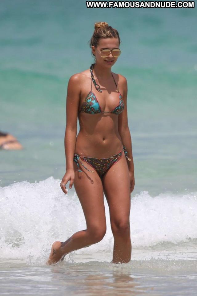 Sandra Kubicka The Beach Paparazzi Beautiful Babe Bikini Celebrity