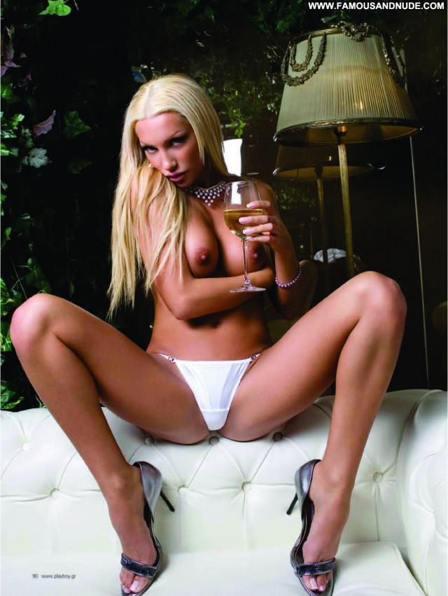 Ria Antoniou No Source Sexy Topless Nude Spa Babe Posing Hot Greek
