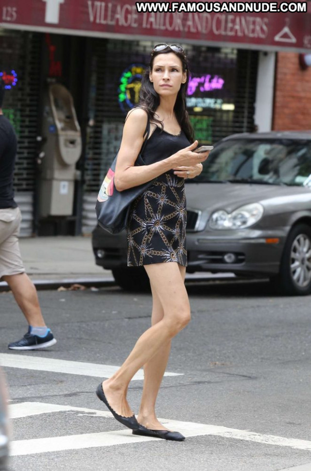 Famke Janssen No Source Beautiful Celebrity Babe Posing Hot Paparazzi