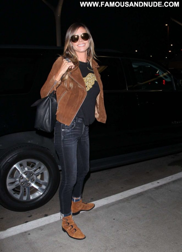 Heidi Klum Los Angeles Angel Paparazzi Posing Hot Los Angeles Babe