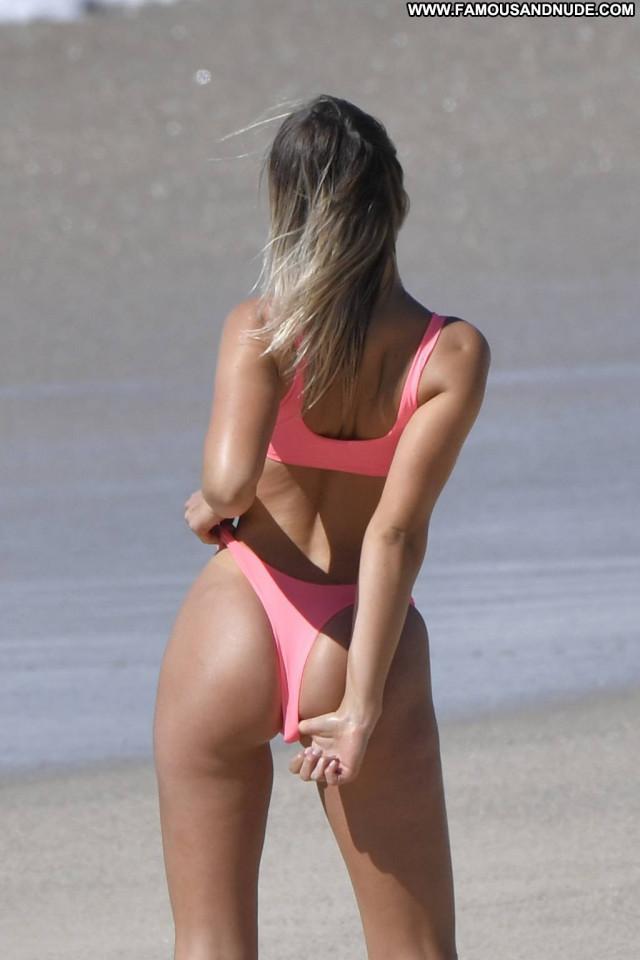 Claudia Galanti Topless Photoshoot Celebrity Babe Actress Bikini