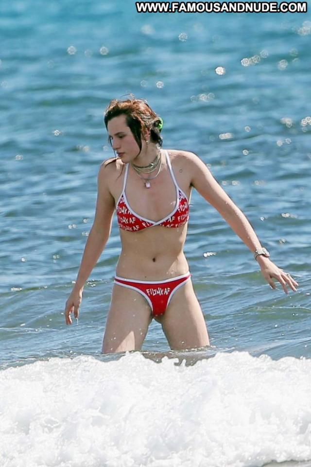 Bella Thorne In Bikini The Beach Bikini Celebrity Beautiful Babe